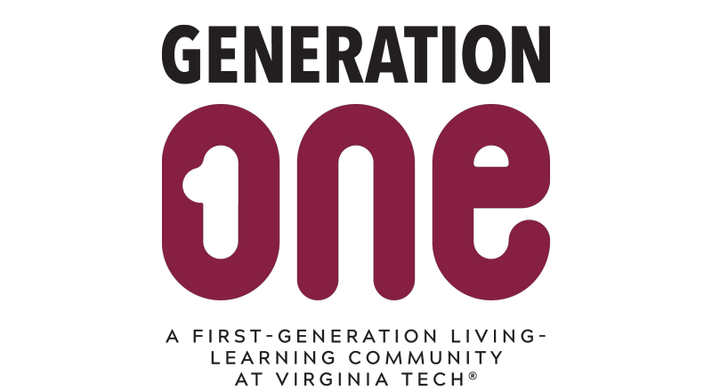 The Generation One Living-Learning Community Logo